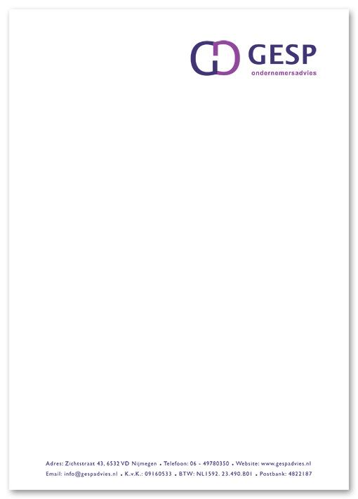 briefpapier Gesp Ondernemersadvies